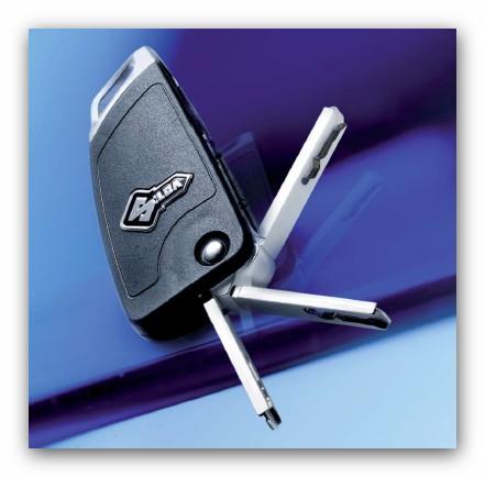 Schlüsselkopie für Fiat Klappschlüssel mit Innenbahn u. Chip
